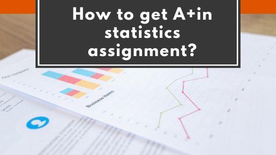 Statistics assignment